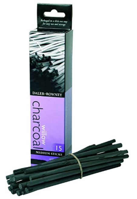 Medium Willow Charcoal 15-Pack