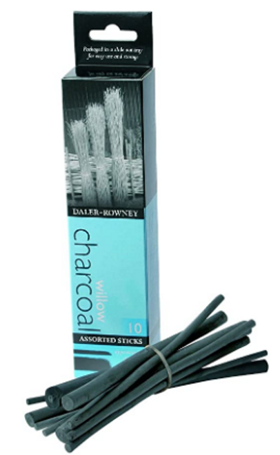 Assorted Willow Charcoal 10-Pack