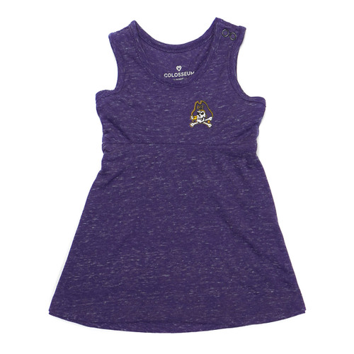 Purple Heather Infant Jolly Roger Tank Dress & Bloomers