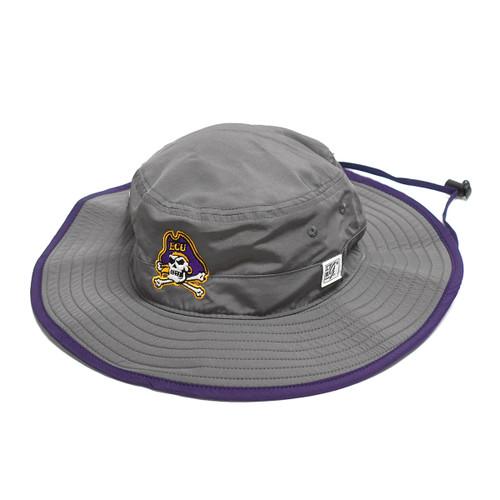 Charcoal Jolly Roger Bucket Hat