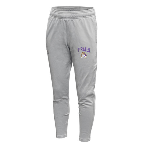 Steel Grey Youth ECU Under Armour Workout Pants