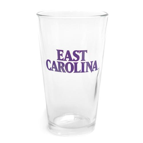 Purple East Carolina Pint Glass