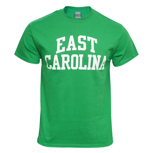 Emerald Green East Carolina Rainbow Tee