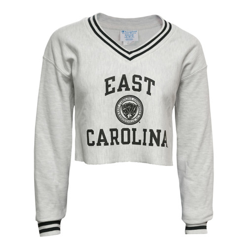 Oxford & Black ECU Reverse Weave Crop Crew