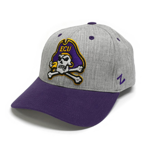 Oxford & Purple Jolly Roger Stretch Cap