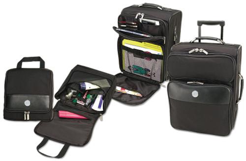 Black ECU Medallion Luggage Set