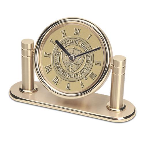 ECU Medallion Arcadia Desk Clock