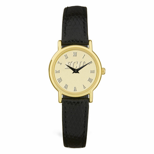 Gold ION & Black ECU Ladie's Wristwatch
