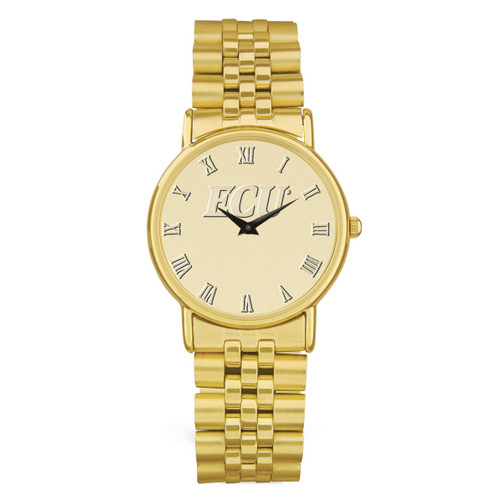 Gold ION ECU Men's Wristwatch