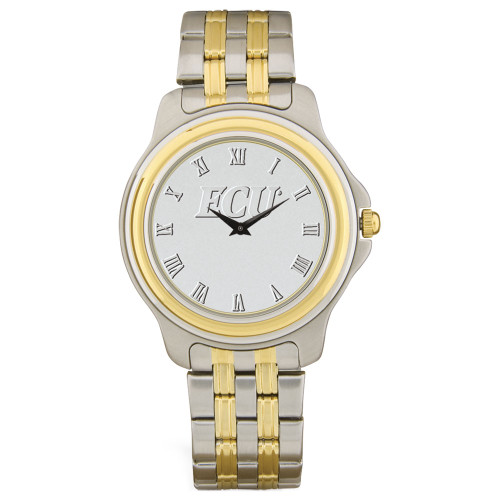 Stainless Two Tone Silver ECU Men's Wristwatch