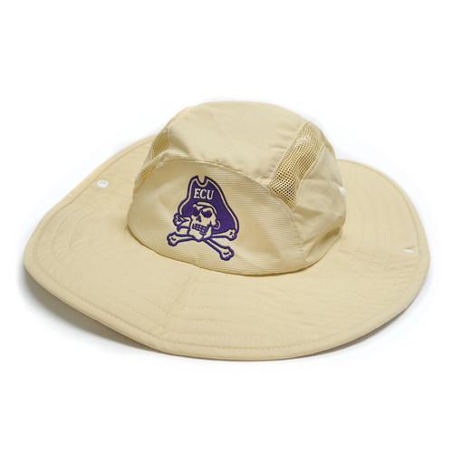 Tan Stone Jolly Roger Adidas Bucket Hat