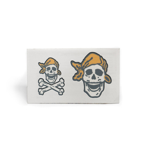 Skully Temporary Tattoos