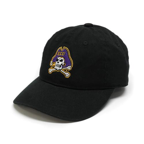 Black Youth Jolly Roger Adjustable Cap