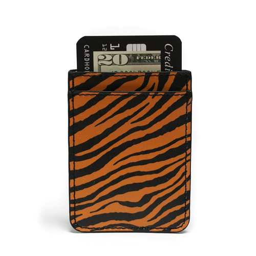 Tiger Print Phone Pocket