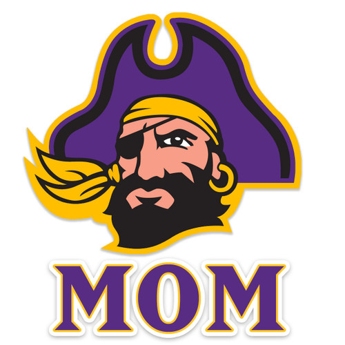 Mom Pirate Head Decal