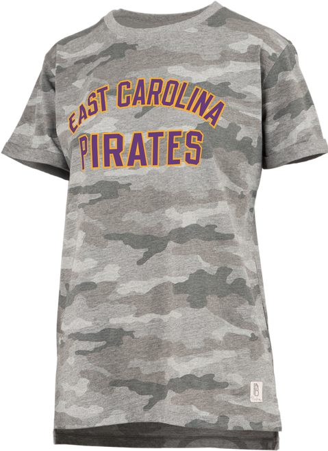 Tee Camo East Carolina Pirates Yellow Block