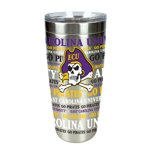 Tumbler Stainless 20 oz. Jolly Roger Repeat