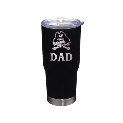 Tumbler Dad Black Jolly Roger Stainless 22 oz