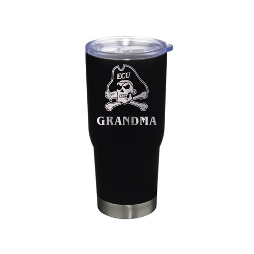 Tumbler Grandma Black Jolly Roger Stainless 22 oz