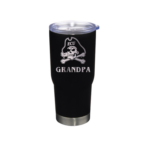 Tumbler Grandpa Black Jolly Roger Stainless 22 oz