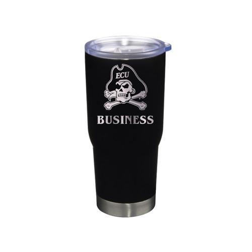 Tumbler Business Black Jolly Roger Stainless 22 oz