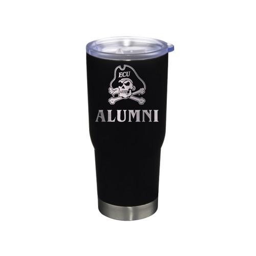 Tumbler Alumni Black Jolly Roger Stainless 22 oz