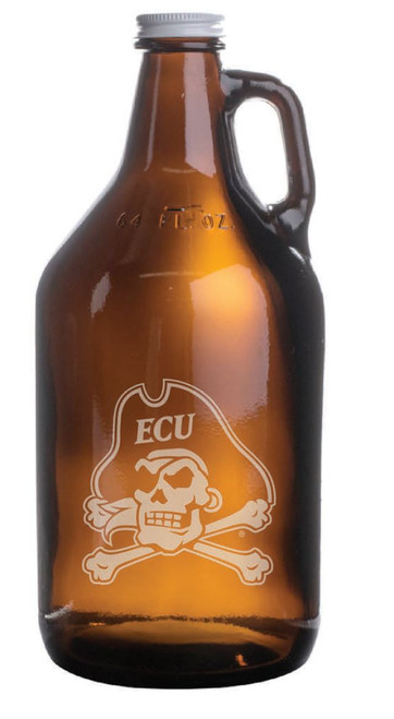Growler 64 oz Jolly Roger