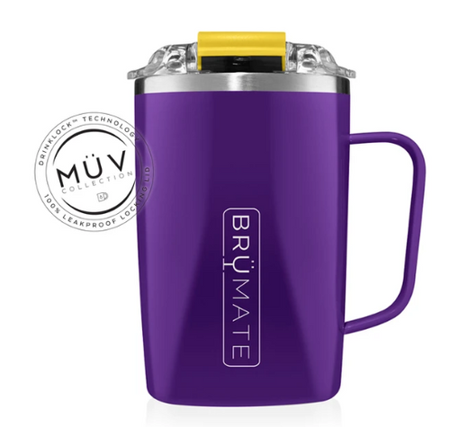 Toddy 16 oz. Tailgate Purple & Gold