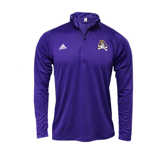 1/4 Zip Pullover Purple Jolly Roger