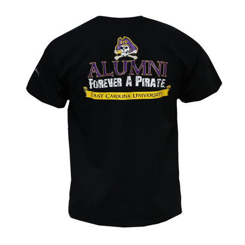 Black Alumni Tee Forever a Pirate