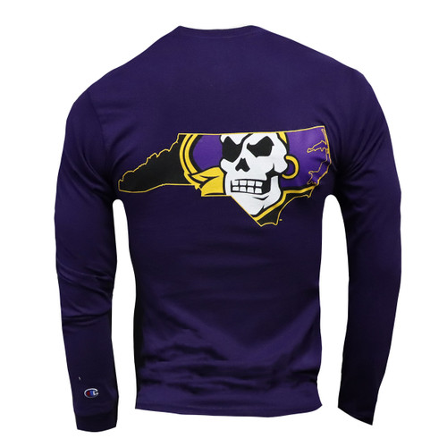 Purple Pirate State Of Mind Long Sleeve