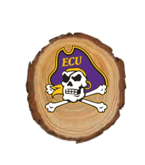 Wood Magnet Jolly Roger