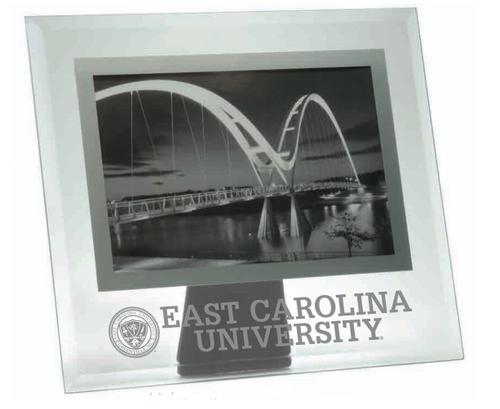Frame 4x6 Glass East Carolina Seal