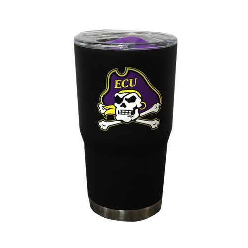Black 20 oz Jolly Roger Tumbler