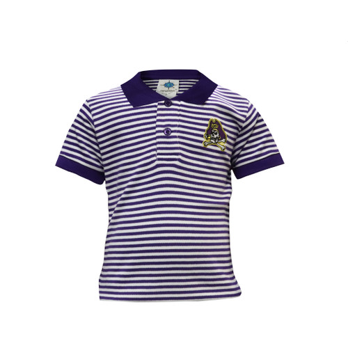 Purple and White Jolly Roger Polo