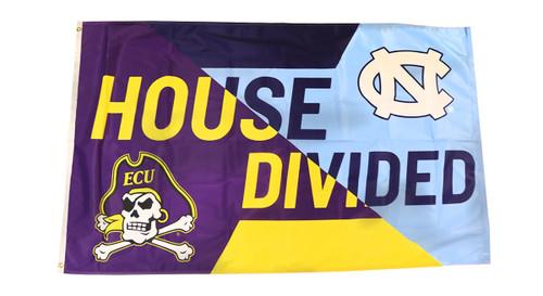 3 x 5 ECU/UNC House Divided Flag