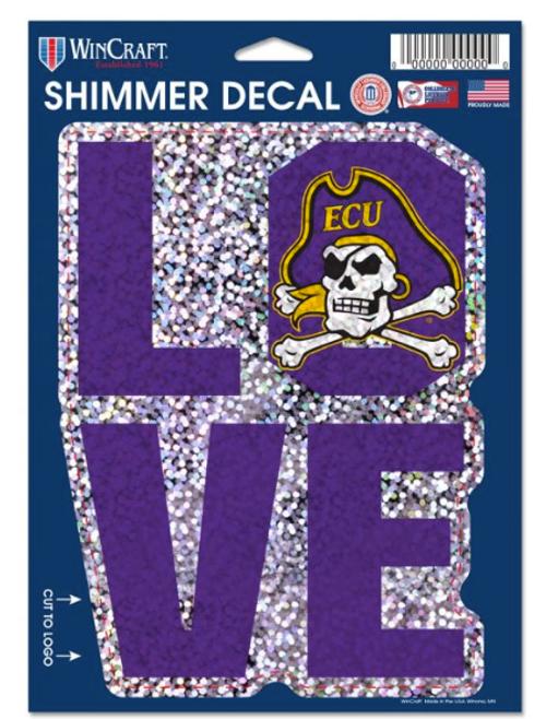 Decal Love ECU Shimmer