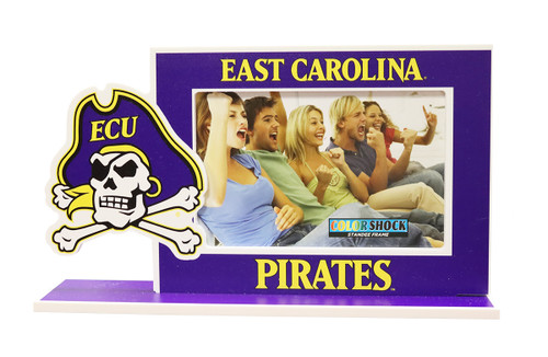 4 x 6 Purple East Carolina Jolly Roger Picture Frame