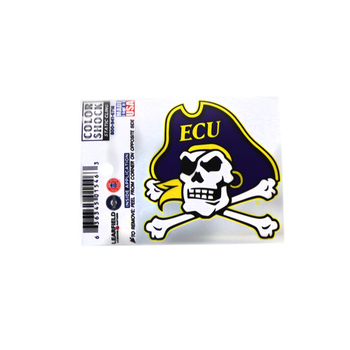 Jolly Roger Static Cling Decal
