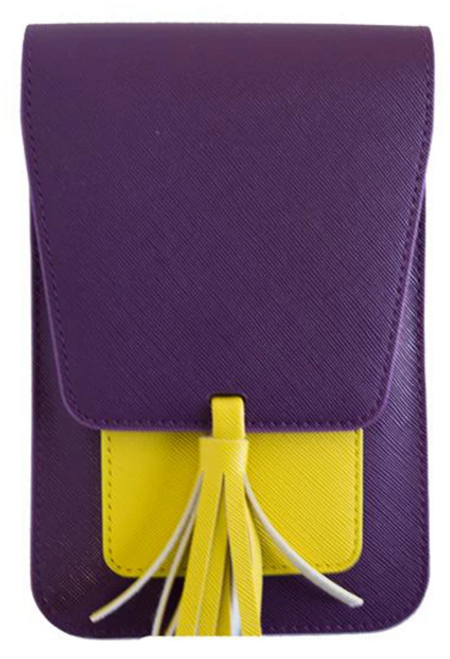 Harper Crossbody Bag Gameday Purple & Gold