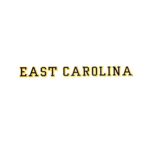 Three Color 16-inch East Carolina Decal