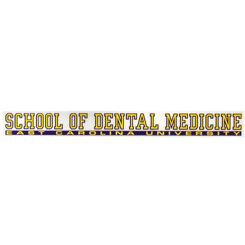 School of Dental Medicine Decal