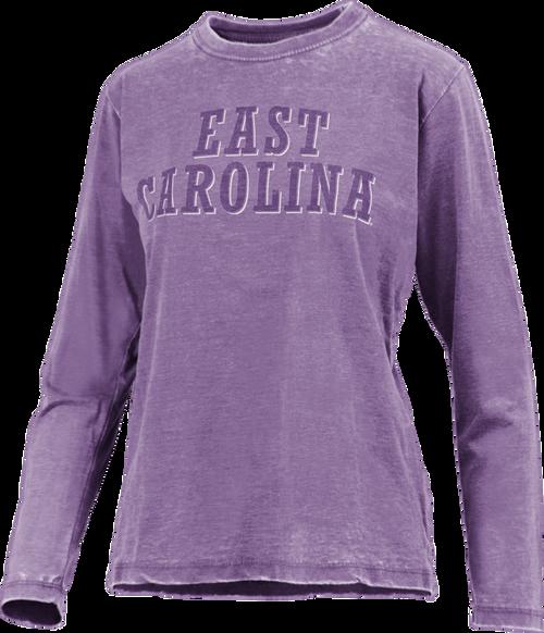 Purple East Carolina Vintage Tee