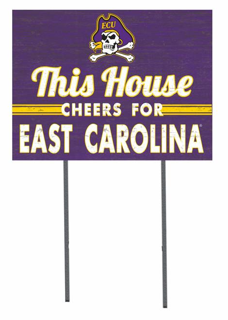 This House ECU Yard Sign