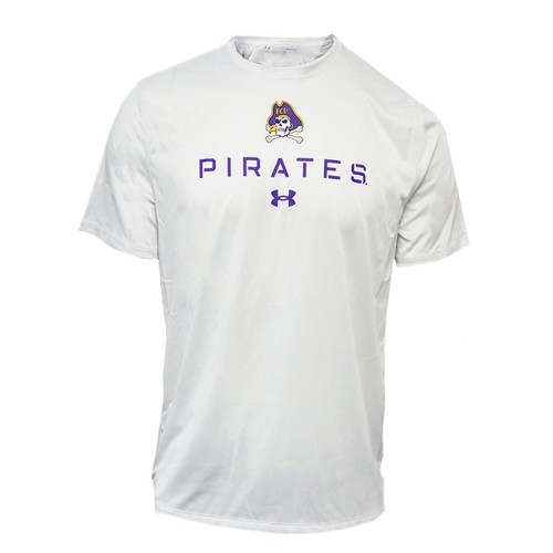 White Twist Jolly Roger Under Armour Tee
