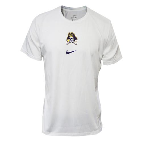 White Jolly Roger Nike Tee