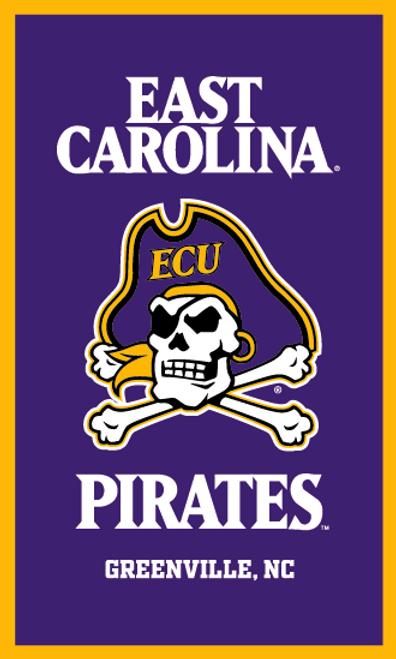 "18"" x 30"" ECU Pirates Pennant Banner"