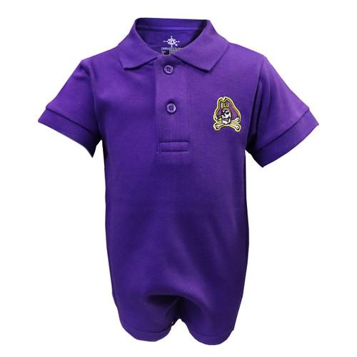 Purple Onesie Jolly Roger Polo
