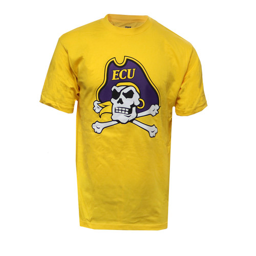 Gold Jolly Roger Tee
