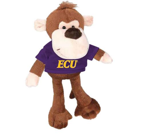Plush Monkey with Purple ECU Tee